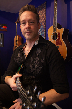Jim Cash owner and guitar instructor at Potomac Falls Music