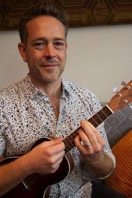 Jim Cash Ukulele Instructor at Potomac Falls Music