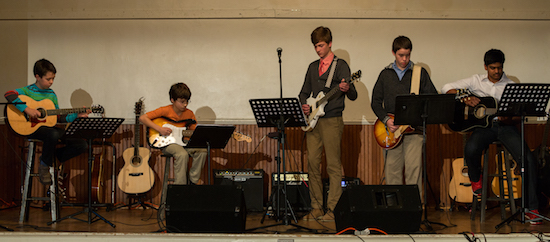 Student Showcase Guitar Ensemble Group Potomac Falls Music