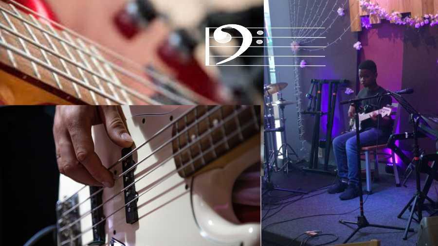 Bass Student at Potomac Falls Music Student Showcase