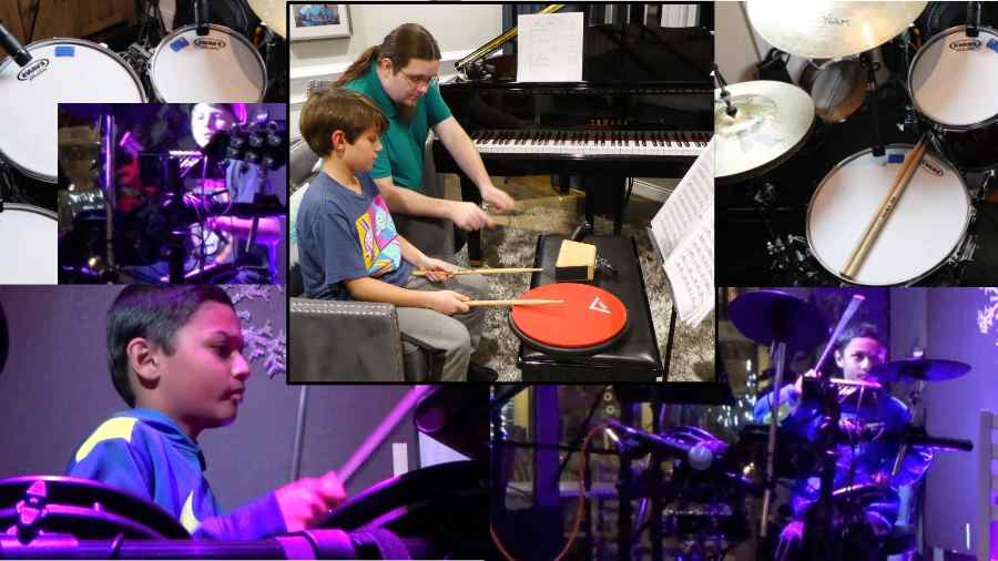 Drum Lessons with Monty Smith at Potomac Falls Music