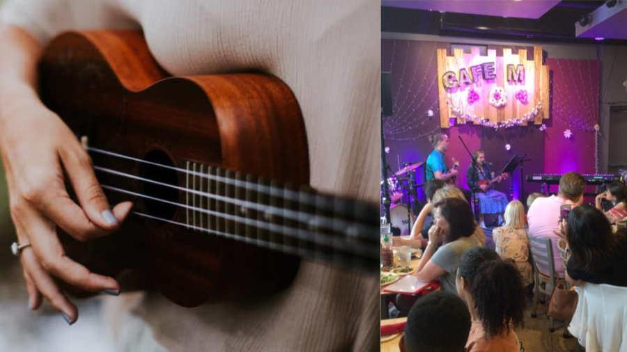 Ukulele Lessons at Potomac Falls Music- Student Showcase Ukulele performer