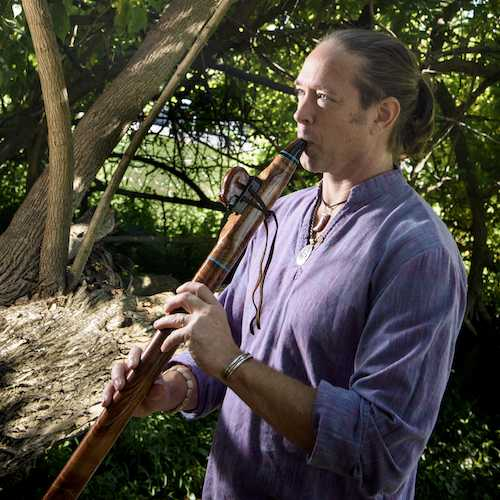 Jim Cash Native American Style Flute Instructor at Potomac Falls Music